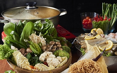 Hot Pot Buffet for 5 People