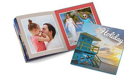 "6"" x 6"" Mini Square Softcover Photobook, 48 Pages"