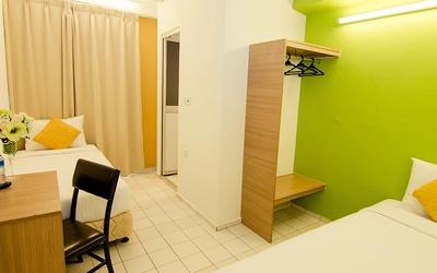 Kuala Lumpur: 2D1N Stay in a Lodge Classic Twin Room for 2 People