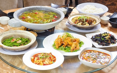 5-Course Chinese Meal for 5 People
