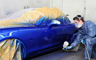 Scratch Removal and Auto Painting for Whole Car